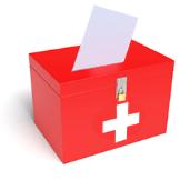 Abstimmungsurne Bild